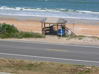 Ormond-by-the-Sea condo photo - Ocean View and Private Gazebo from Balcony