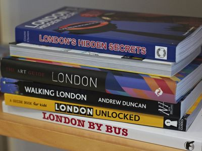 Guide books reveal London secrets