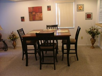 St. Augustine Beach condo rental - Dining Area