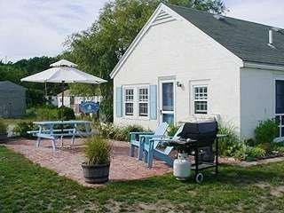 View from side - Wellfleet cottage vacation rental photo