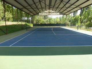 Durango cottage photo - Private covered tennis court in the pasture for your enjoyment