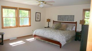 Belleayre Mountain house photo - Master Bedroom with king size bed, high thread count bedding