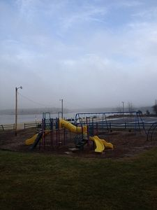 Playground at Lake , Beach ,Pool area. Fish or swim here. Paddle Boats ect