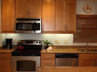 Sanibel Island condo photo - Completely renovated kitchen that is well stocked for all your cooking needs