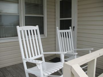 Chairs or rockers on both porches