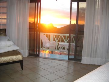 Sunset from master suite