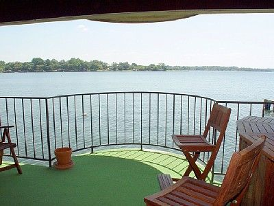 Your Private Balcony Hangs Over the Water and Enjoys a 'Three-Mile' View!