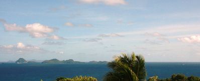 ..view the Grenadines from your veranda