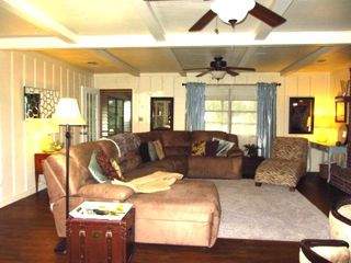 Merritt Island house photo - Large Sectional in Great Room
