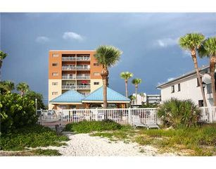 Redington Shores condo photo - View from beach looking at pool and building