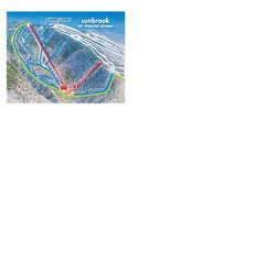 Mount Snow condo photo - Mount Snow - Sunbrook Face Trail Map