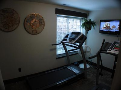 Exercise area-