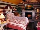 Queen Bed in Uncle Pete's Cabin - Nashville cabin vacation rental photo