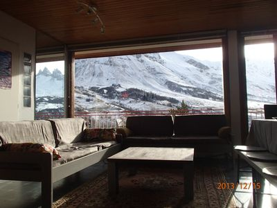 Very comfortable apartment, beautiful view of the slopes near Needles