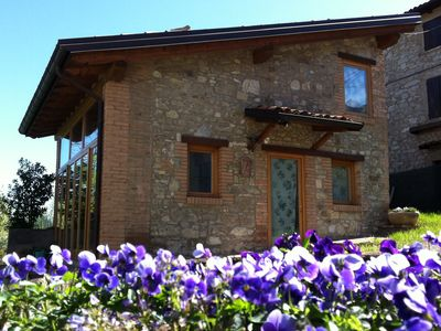 Lovely holiday apartment in the Emilian hills