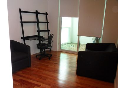 North Miami Beach apartment rental - Guest Bedroom. Two comfortable twin size pull out couches and/or office