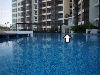 Hua Hin condo photo - The arrow point out the location of the condo