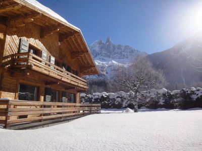 Family chalet, exceptional view, close to skilifts