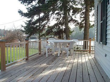 Some of the extensive decking