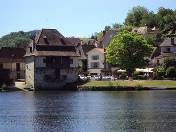View of 'Riverside House' from Dordogne