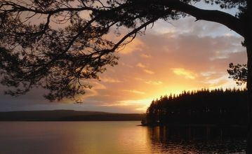 One of many sunsets over Kielder water