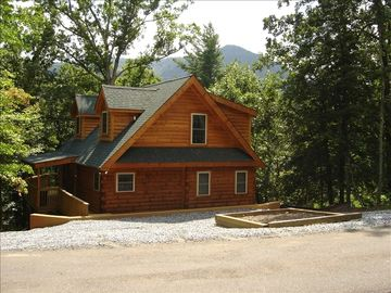 Lake Lure cabin rental - Love the Mountain Views in our Quiet Cabin!