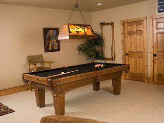 Seven Springs house photo - Pool table