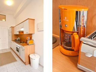 Innere Stadt apartment photo - Kitchen with Boiler, Toaster and Coffee maschine