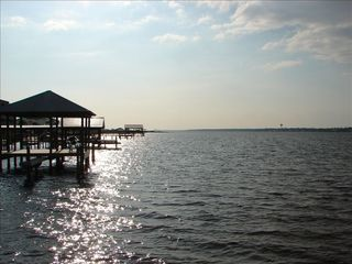 Gulf Shores townhome photo - Sunset on pier.... A must see ;)