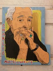 Charlie Musselwhite by Dan Dalton - Clarksdale apartment vacation rental photo