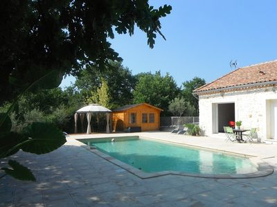 Cottage 4 persons with Spa and heated pool (seasonal)