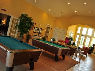 Villas at Seven Dwarfs Lane townhome photo - Clubhouse with Pool table, gym, business center