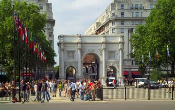 Marble Arch and Oxford Street just 10 minutes walk away