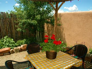 Taos house photo - Taos Vacation Home Outdoor Dining