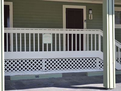 Isle of Palms villa rental - Easy parking and access to villa entrance