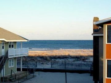 Ocean City South End condo rental - Beachview from Back Deck