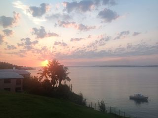 Bermuda condo rental - Your sunrise view from the terrace...ahhh!