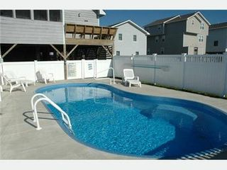 Kitty Hawk house photo - Enclosed pool
