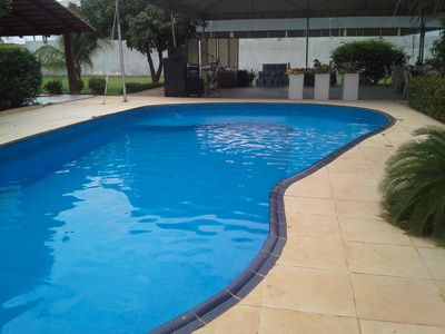 HOUSE WITH POOL AND GREAT CAMPING AREA