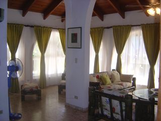 Cabarete villa photo - Living room
