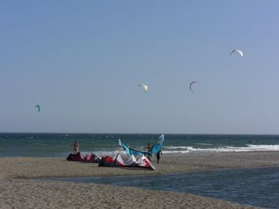 Kite Beach close to apartmens