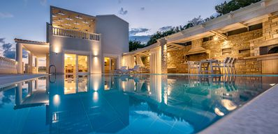 Luxury villa, with stunning views and superior facilities ideal for families