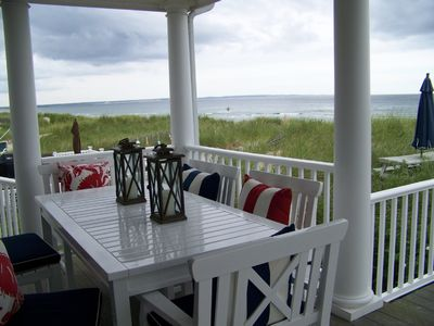 Covered Deck - Spectacular Water Views