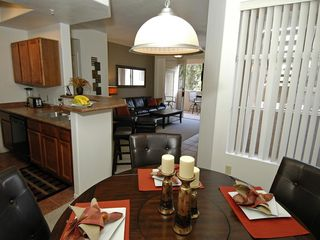 Ahwatukee condo photo - Lazy Suzan dining room table
