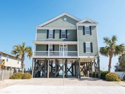5br House Vacation Rental In Garden City Beach South
