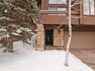 Deer Valley townhome photo - Covered front entrance