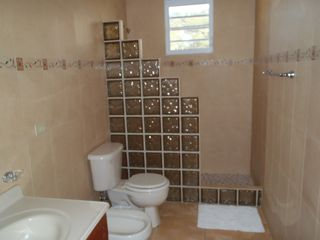 Isabela house photo - Master bath, shower, toiletl, bidet. vanity.