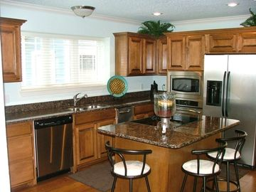 Main Level fully equipped Gourmet Kitchen