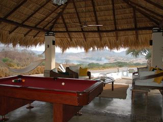 Tamarindo villa photo - Pool Table