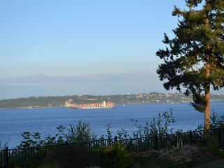 Bainbridge Island house photo - watch the passage of boats along the Puget Sound